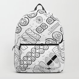 Sushi Coloring Backpack