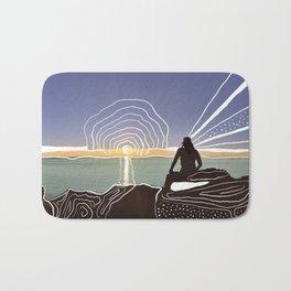 Western Australian sunset Bath Mat