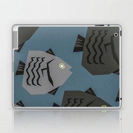 White Fish Lover Laptop & iPad Skin