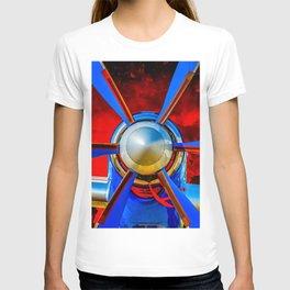 Blue propeller T-shirt