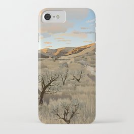 Cottonwood Canyon State Park iPhone Case