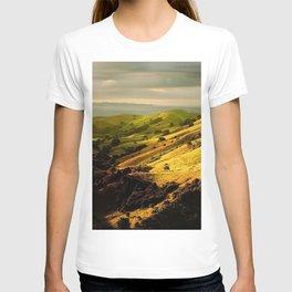 lowland trees hills T-shirt