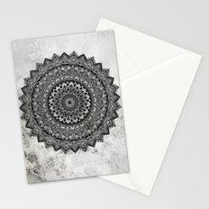Charcoal Mandala Stationery Cards