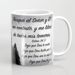 Lobo - Salmo 34, 5 Coffee Mug