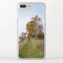 Sturgeon Bay Canal Clear iPhone Case