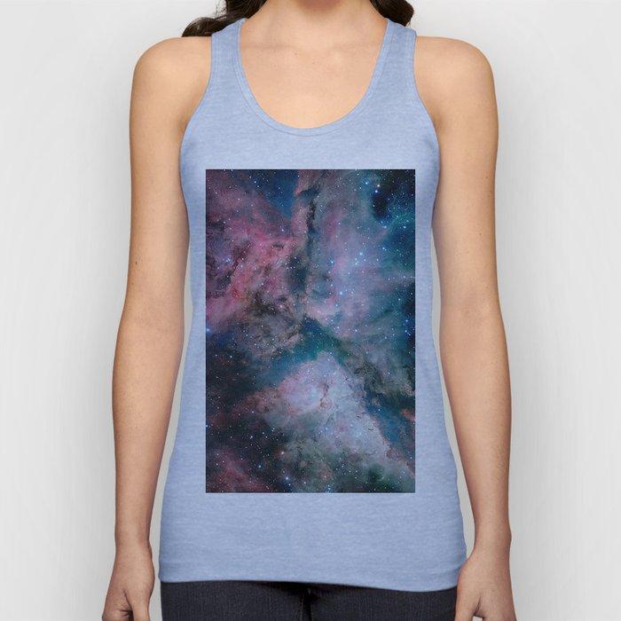Carina Nebula - The Spectacular Star-forming Unisex Tank Top