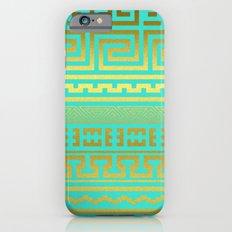Gold   Greek Slim Case iPhone 6s