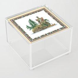 MY ISLAND RETREAT Acrylic Box