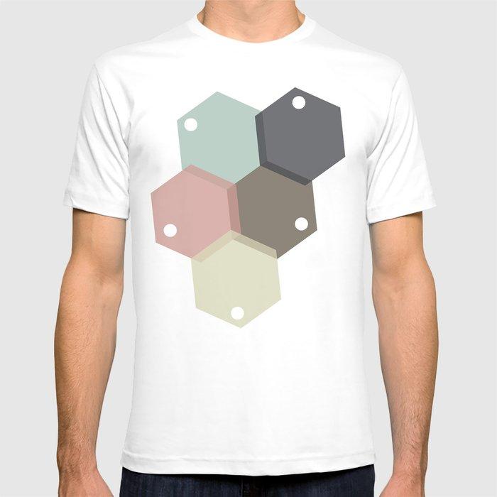 Farbbienenstock T-shirt