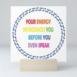 Energy Mini Art Print