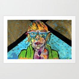 Uranium Girl Art Print