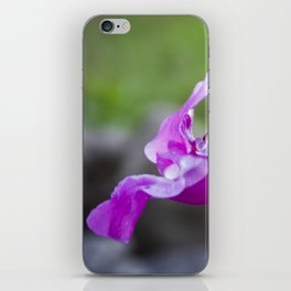 Indian Balsam Bokeh on the banks of the River Tay in Scotland iPhone Skin