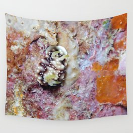 Cute nudi and transparent shrimp Wall Tapestry
