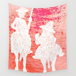 quixote and his friend Wall Tapestry