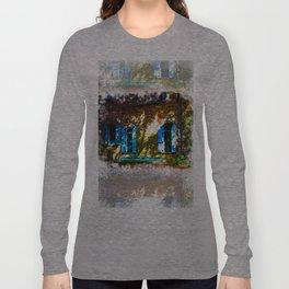 Secret Garden Castle Windows Long Sleeve T-shirt
