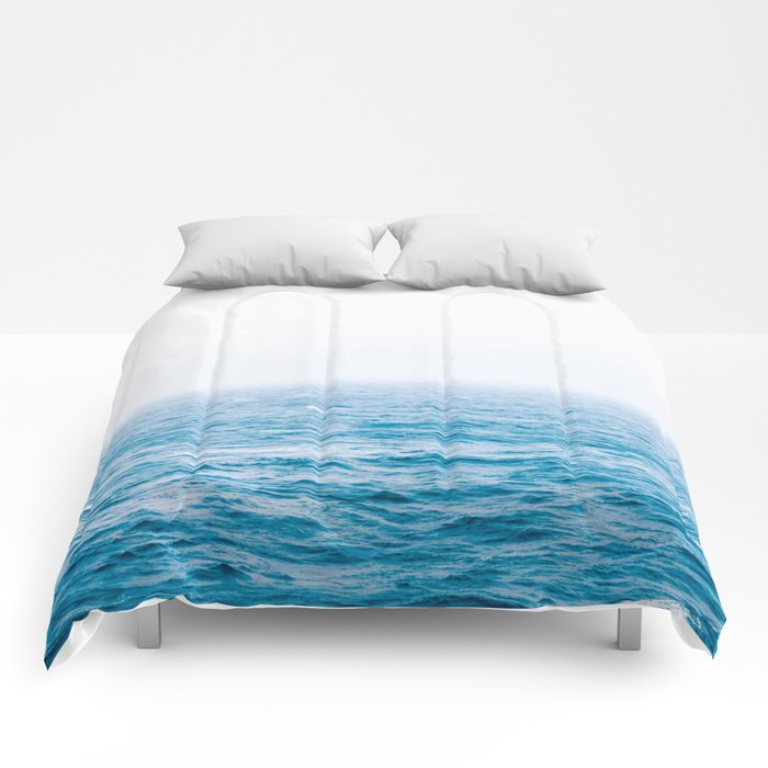 Ocean comforters by vivinicolin society6 for Ocean bed meaning