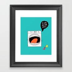 Sock Eater 1000 Framed Art Print