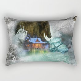 Bear Beyond Strength Rectangular Pillow