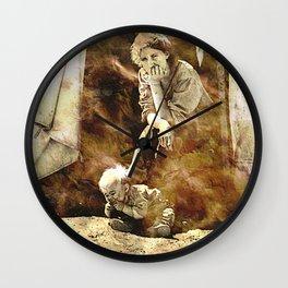 1937 DEPRESSION Wall Clock