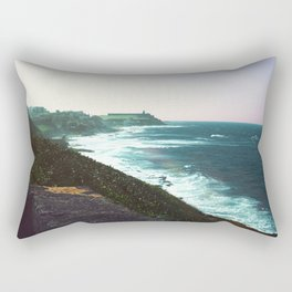 Castle By The Sea Rectangular Pillow