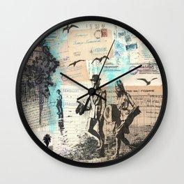 Long Hot Summer Wall Clock