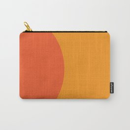 Orange Rising Carry-All Pouch
