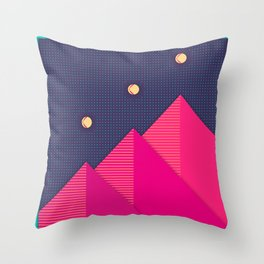 Stairway to the Stars Throw Pillow