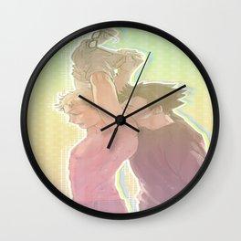 Back Kiss Wall Clock