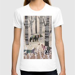 Forest in Sweater T-shirt