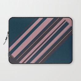 Rose stripes Laptop Sleeve