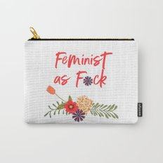 Feminist as F*ck (Censored Version) Carry-All Pouch