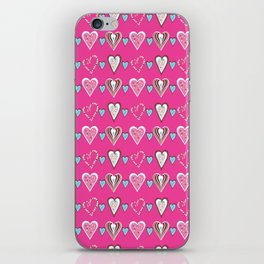 Love Heart Candy Colors iPhone Skin