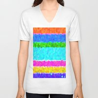 hotline miami V-neck T-shirts featuring Miami by Saundra Myles