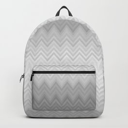 Chevron Fade Grey Backpack