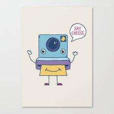 Instant Happy Canvas Print