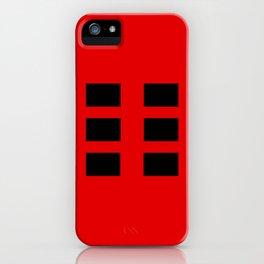 I Ching Yi jing - symbol of kun 坤 iPhone Case