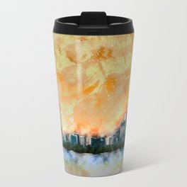 Summer In The City Travel Mug