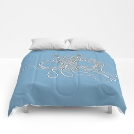 His Wiry Appendage Comforters