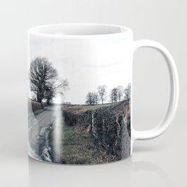 open fields around derby Coffee Mug
