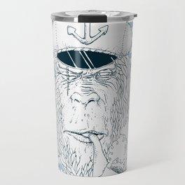 Sailor Monkey Travel Mug