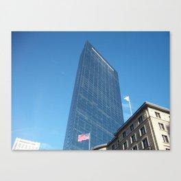 Boston Buildings Canvas Print