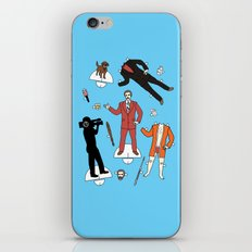 Cut It Out: Ron Burgundy iPhone & iPod Skin