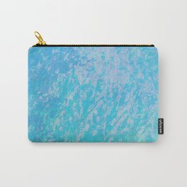 The 90s are Back - aqua texture - nineties old school style Carry-All Pouch