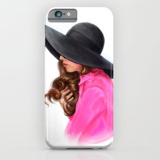 Lady in Purple Slim Case iPhone 6s