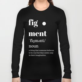 fig·ment Merchandise Long Sleeve T-shirt