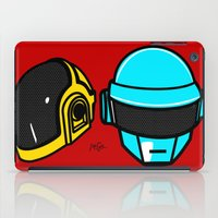 daft punk iPad Cases featuring Daft Punk by Alli Vanes