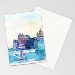 Winter in Edinburgh Stationery Cards