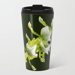 Green Orchid Travel Mug
