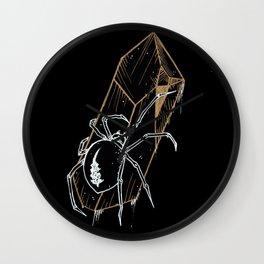 Crystal Widow Wall Clock