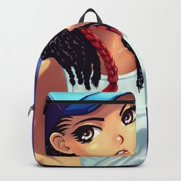 Skater girl Backpack